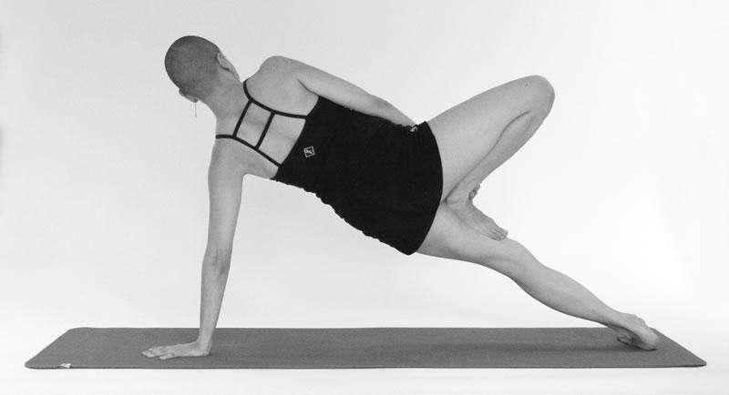Variation of Vasisthasana - Christine Borg Yoga